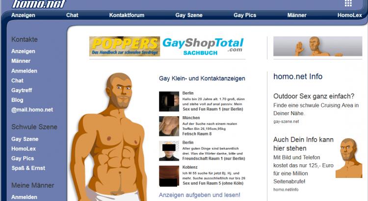 My Homo - Kontaktanzeigen-Portal