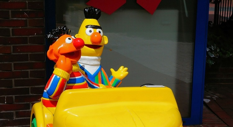 Ernie und Bert sind schwul